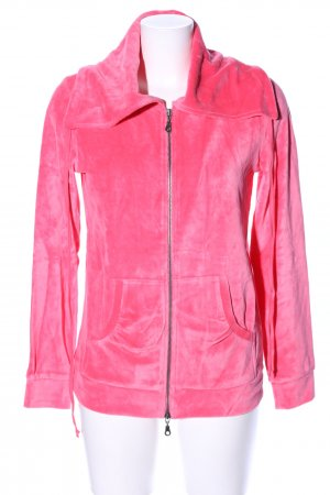 Heine Giacca fitness rosa stile casual