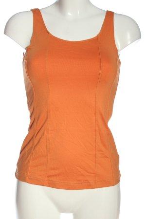 Heine Tanktop licht Oranje casual uitstraling