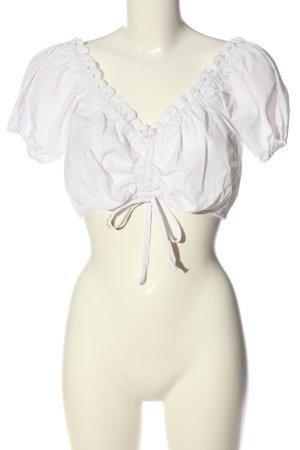 Heine Blusa tradizionale bianco stile casual