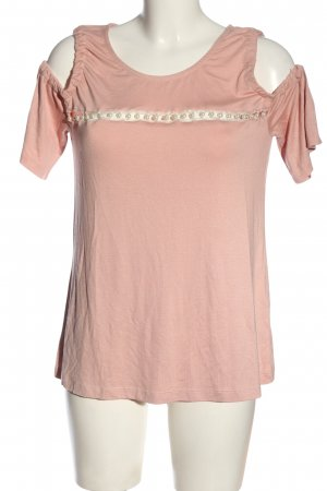 Heine Cut-Out-Top pink Casual-Look