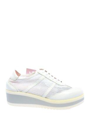 Heine Sneaker con zeppa bianco stile casual
