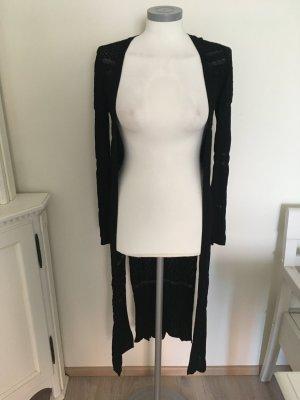 Heine Manteau en tricot noir