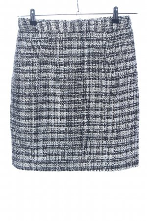 Heine Wool Skirt black-white flecked casual look