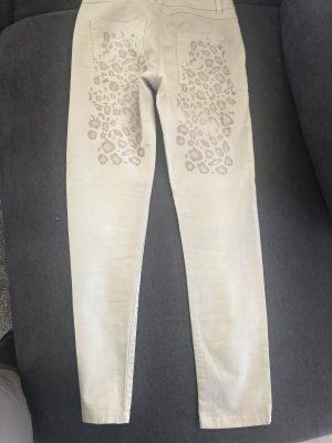 Arlette Kaballo Tube jeans grijs-groen