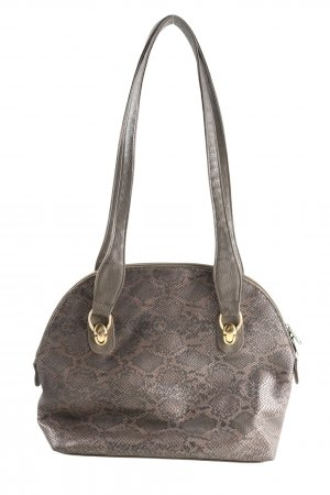 held Schultertasche braun Animalmuster Casual-Look