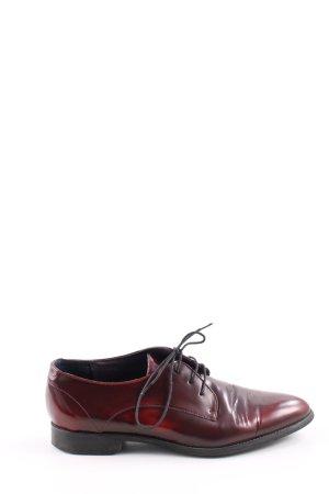 Helen Billkrantz Budapest schoenen rood zakelijke stijl