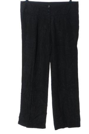 helena hart Pantalone di lino nero stile casual
