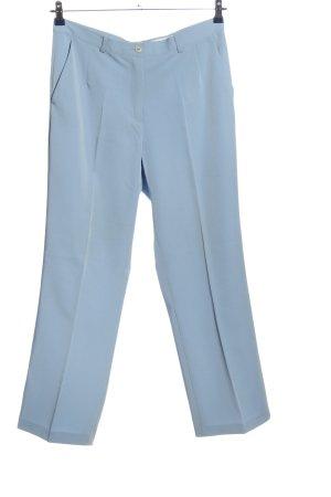 Helena Vera Pantalon de costume bleu style décontracté