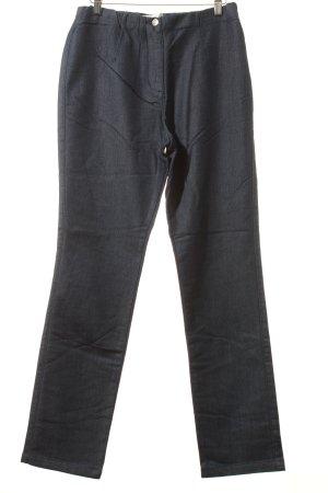 Helena Vera Workowate jeansy ciemnoniebieski W stylu casual