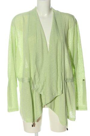 Helena Vera Kardigan zielony Melanżowy W stylu casual