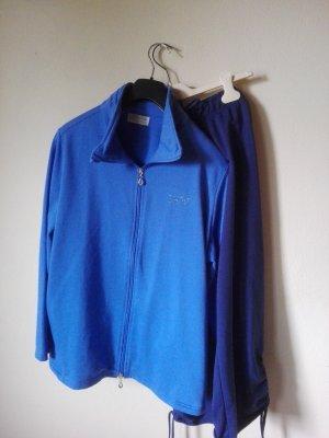 Helena Vera Leisure suit blue-dark blue cotton