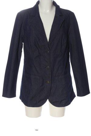 Helena Vera Blazer in jeans blu stile professionale