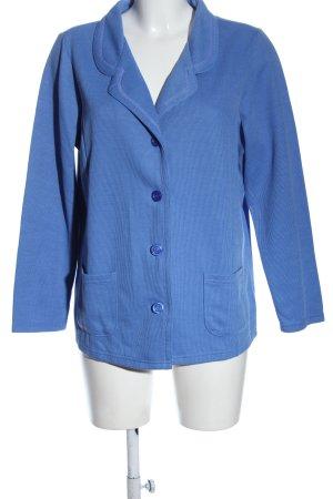 Helena Vera Blazer court bleu style d'affaires