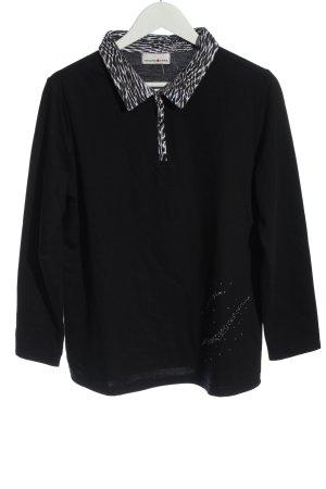 Helena Vera Polo Shirt black casual look