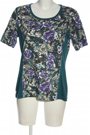 Helena Vera Print-Shirt Blumenmuster Elegant