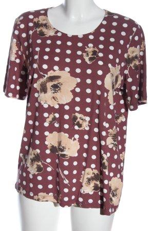 Helena Vera Print-Shirt Motivdruck Casual-Look