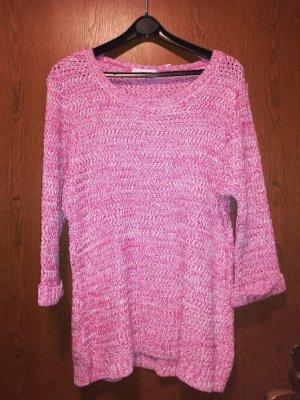 """""""Helena Vera"""" Pullover """"pink"""" - wie von Hand gehäkelt - Gr. 46"""