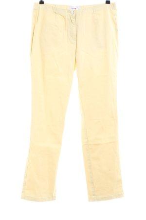 Helena Vera Slim Jeans blassgelb Casual-Look