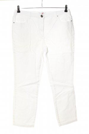 Helena Vera Slim Jeans white casual look