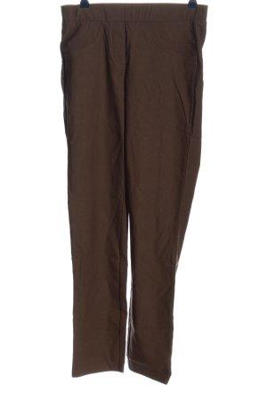 Helena Vera Jersey Pants brown casual look