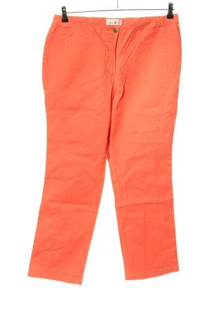Helena Vera Jersey Pants light orange casual look