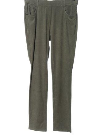 Helena Vera Jersey Pants khaki casual look