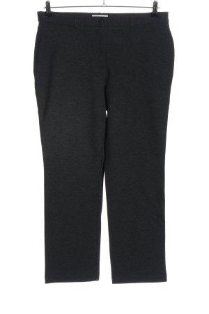 Helena Vera Jersey Pants black flecked casual look