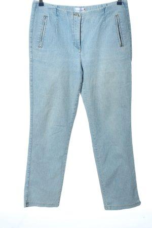 Helena Vera Straight Leg Jeans blue casual look