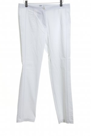 Helena Vera Stretch Trousers white casual look