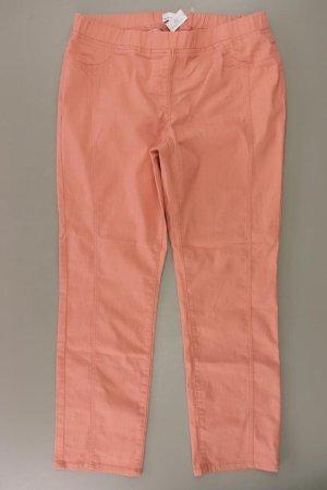 Helena Vera Stretchhose Größe 46 orange aus Baumwolle
