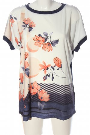 Helena Vera Knitted Jumper flower pattern casual look