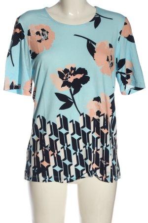 Helena Vera T-Shirt Blumenmuster Casual-Look
