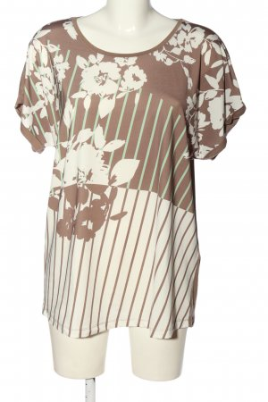 Helena Vera T-Shirt abstraktes Muster Casual-Look