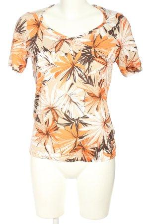 Helena Vera T-Shirt Allover-Druck Casual-Look
