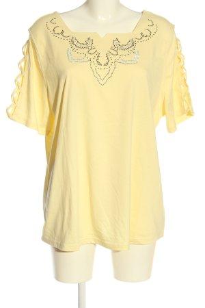 Helena Vera T-Shirt blassgelb Elegant