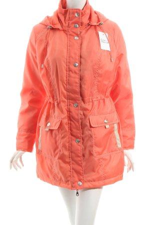 Helena Vera Übergangsjacke orange-hellbeige Casual-Look