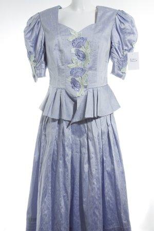Helene Straßer Kostüm florales Muster extravaganter Stil