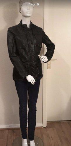 Helium Lederjacke Leder Jacke 12 38 schwarz