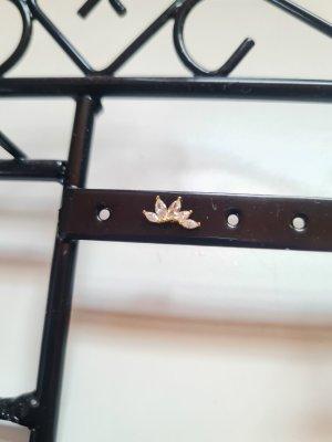 Helix Piercing Blätter vergoldet Sterling S925