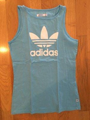 Adidas Top sportowy błękitny-chabrowy