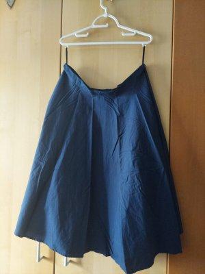 Hell Bunny Jupe corolle bleu coton
