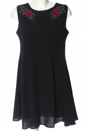 Hell Bunny A-Linien Kleid schwarz-rot Elegant