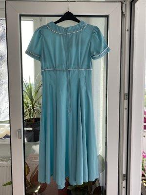 Hell Bunny Petticoat Dress baby blue