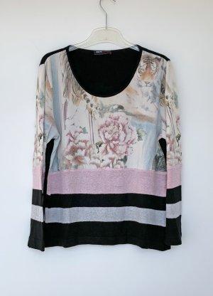 Dibari  nero-rosa antico Viscosa