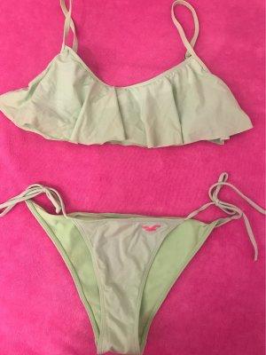 Hell Neongrüner Bikini von Hollister