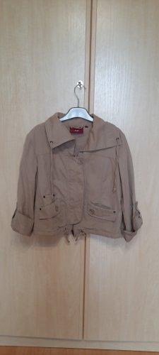 Hellbeige Jacke von Mexx aus Baumwolle