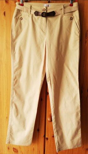 Peter Hahn Pantalone chino beige chiaro