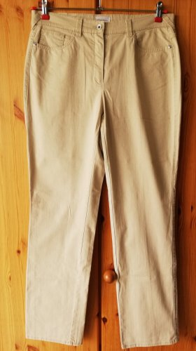 Peter Hahn Jeans elasticizzati beige chiaro Cotone