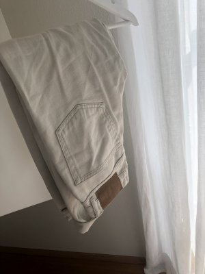 Pull & Bear Jeans a carota beige chiaro-crema