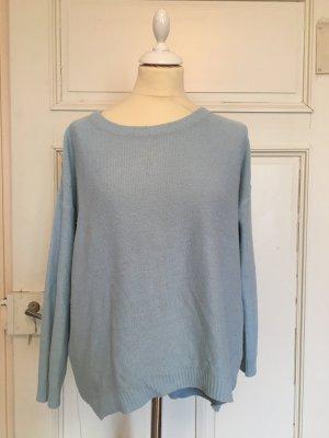 Hellblau gestrickter Pullover brave Soul